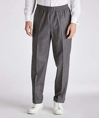 Moncler Drawstring Wool Pants