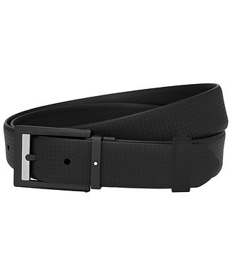 Montblanc Woven Leather Belt