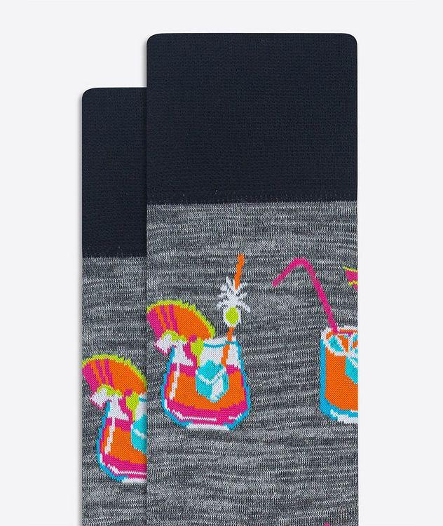Printed Dress Socks picture 2
