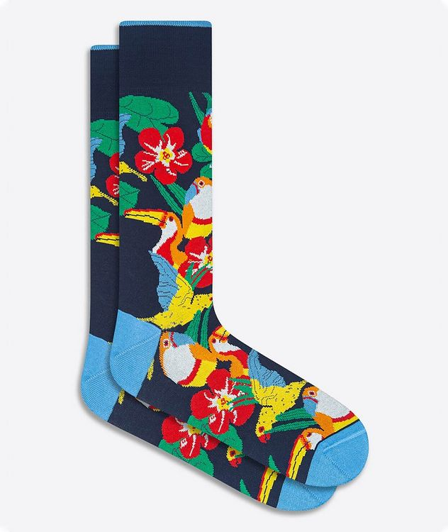 Printed Dress Socks picture 1