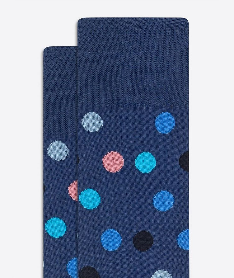 Printed Dress Socks image 1