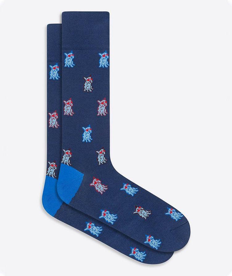 Printed Dress Socks image 0