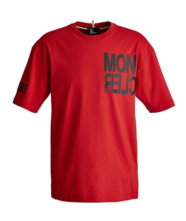 Grenoble Après-Ski Cotton T-Shirt picture 1