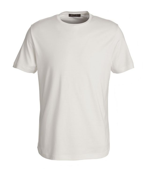 Soft Silk-Cotton T-Shirt picture 1