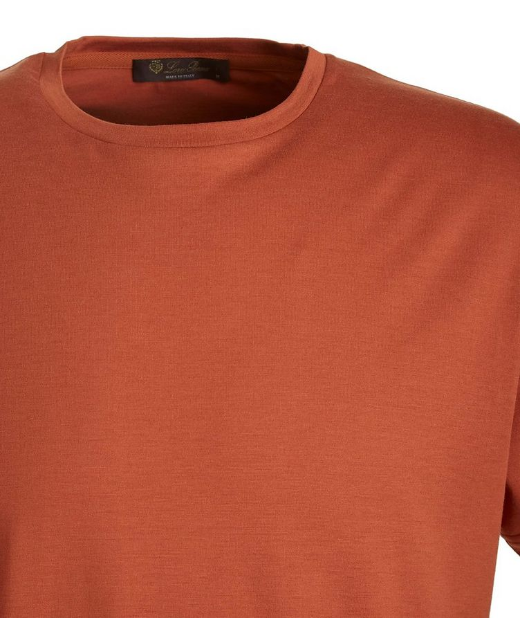 Soft Silk-Cotton T-Shirt image 1