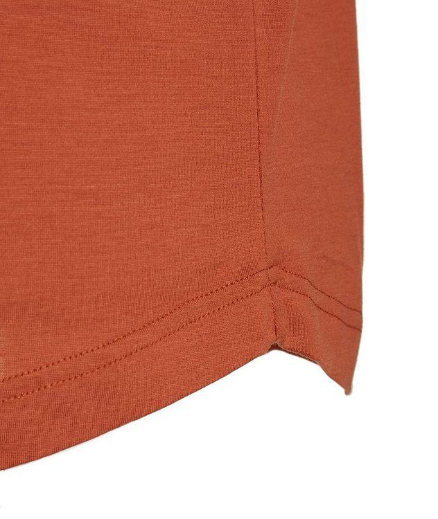 Soft Silk-Cotton T-Shirt picture 3