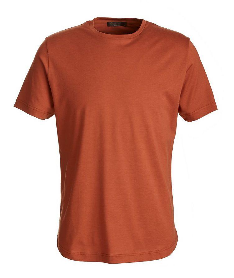 Soft Silk-Cotton T-Shirt image 0