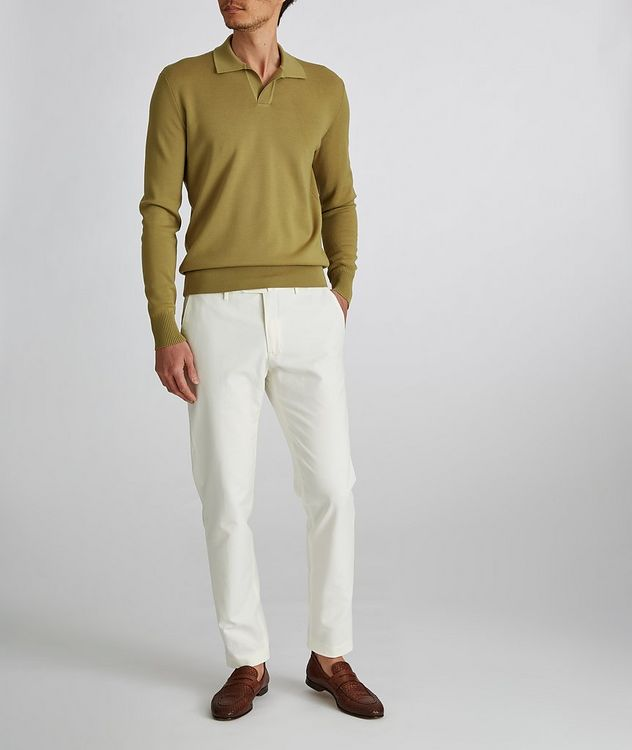 Empire Knit Wool Polo Sweater picture 6