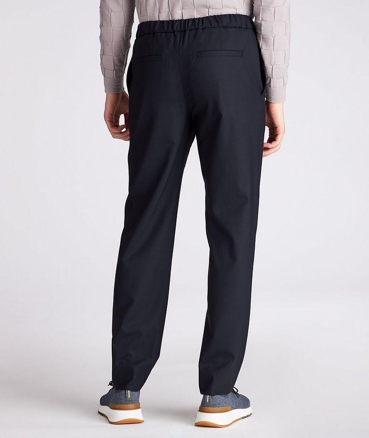 Leisure Flat Stretch-Wool Pants image 2