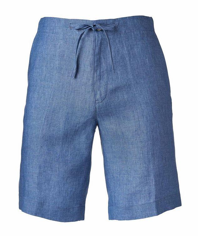 Coulisse Linen Shorts   picture 1