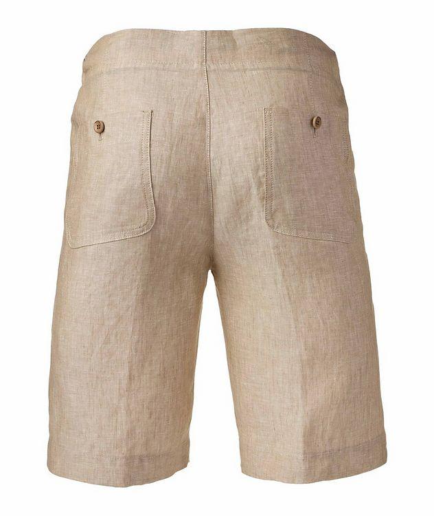 Coulisse Linen Shorts   picture 2