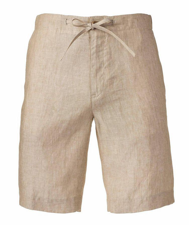 Coulisse Linen Shorts   image 0