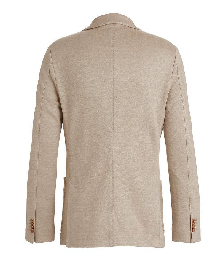 Linen Flower Sweater Sports Jacket image 1