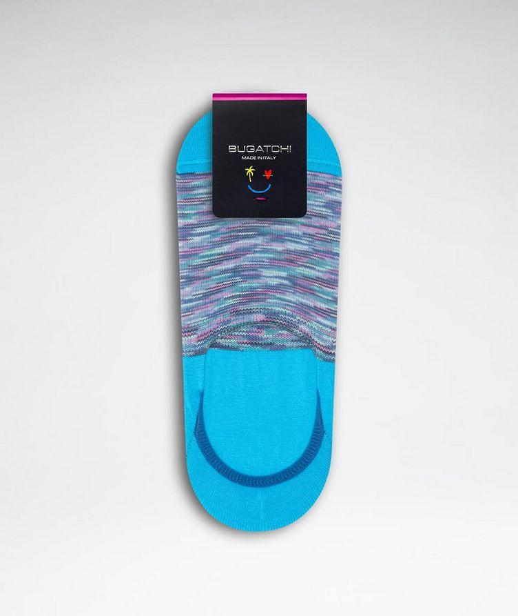 Striped No-Show Socks image 1