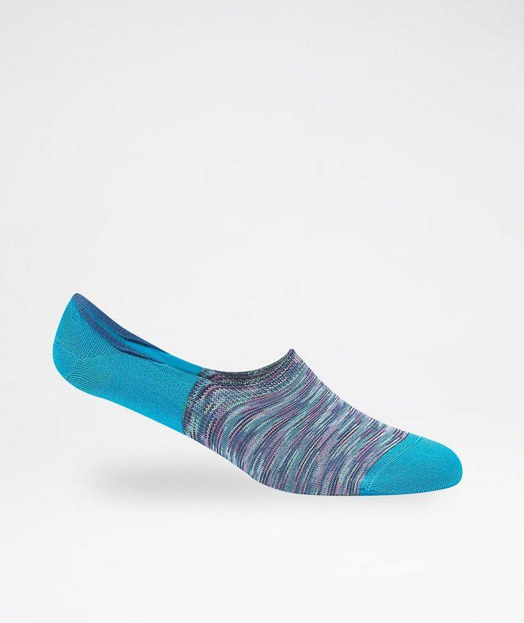 Striped No-Show Socks image 0