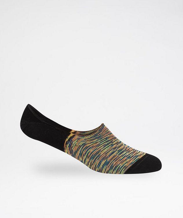 Striped No-Show Socks picture 1