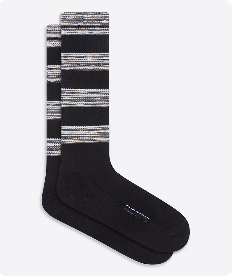 Printed Crew Socks image 0
