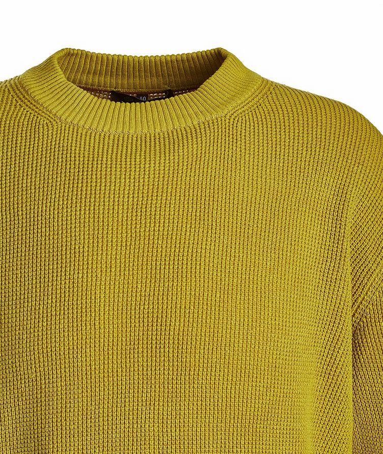 Prescott Silk-Linen Waffle Knit Sweater image 1