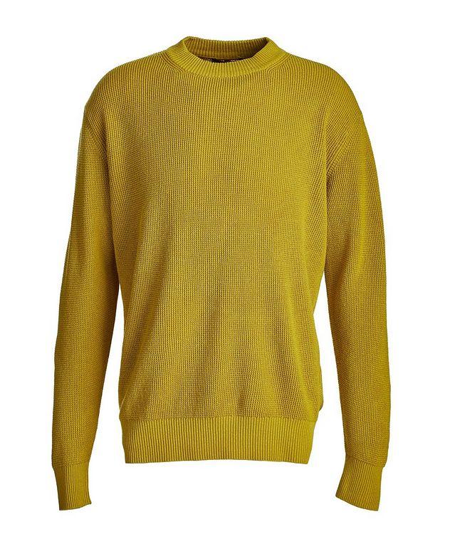 Prescott Silk-Linen Waffle Knit Sweater picture 1