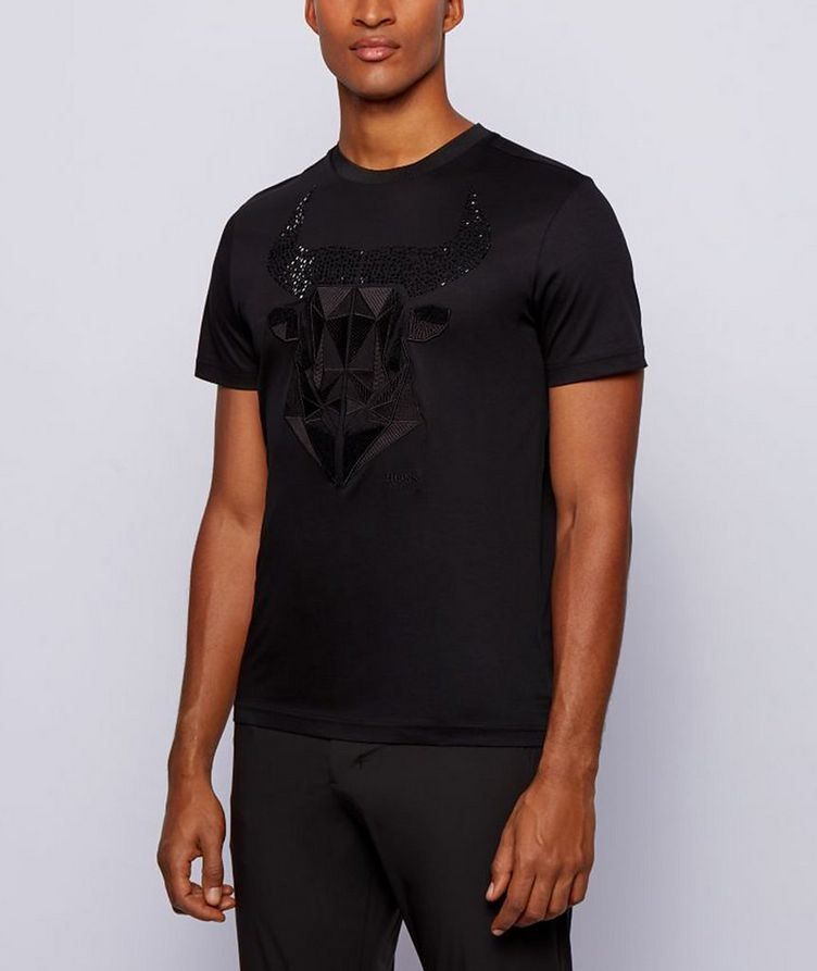 Year of the Ox Cotton T-Shirt image 1