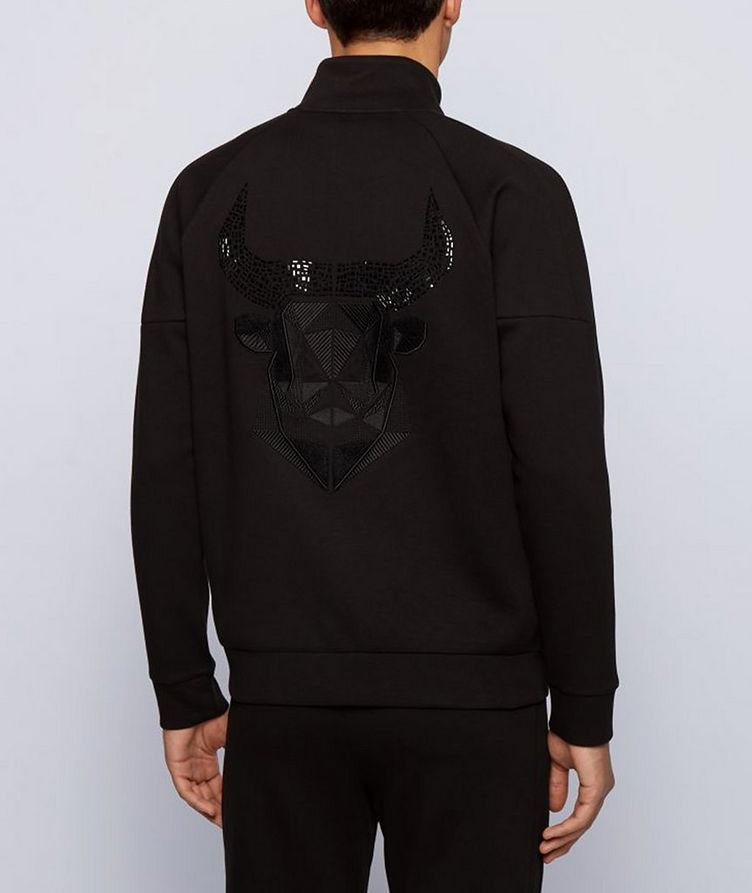 Year of the Ox Zip-Up Sweatshirt image 2