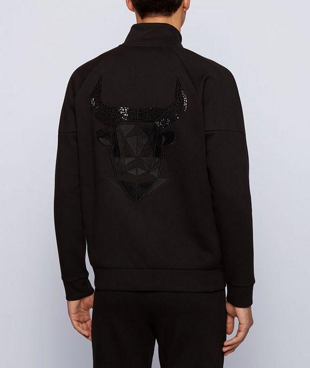 Year of the Ox Zip-Up Sweatshirt picture 3