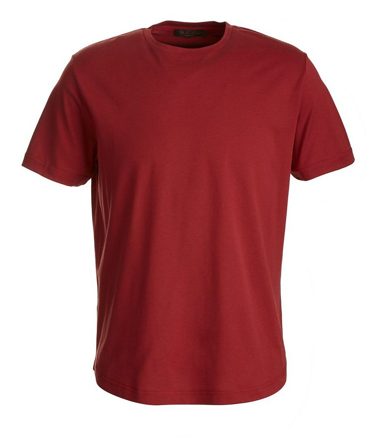Soft Silk-Cotton T-Shirt image 0