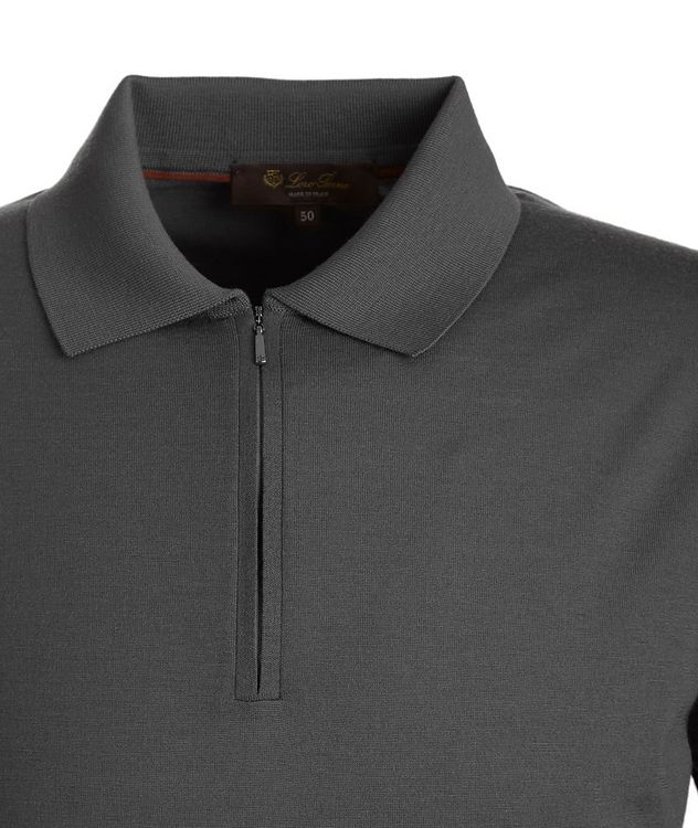 Wish Quarter-Zip Knit Wool Polo picture 2