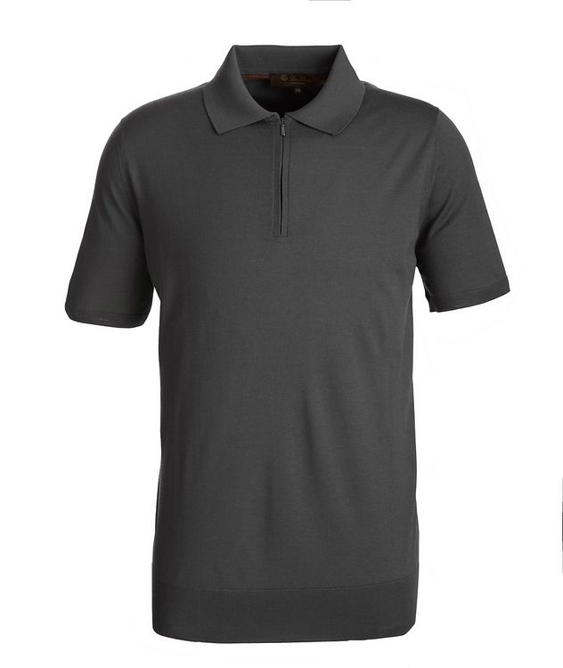 Wish Quarter-Zip Knit Wool Polo picture 1
