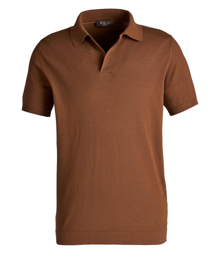Cotton Johnny Collar Polo image 0