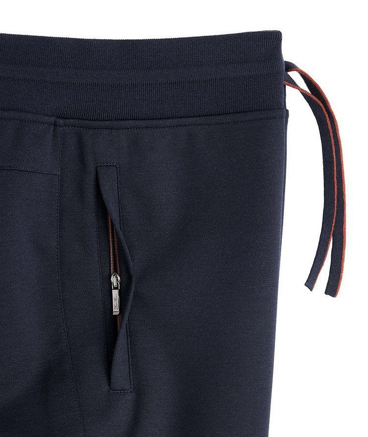 Stretch-Wool Track Pants image 1