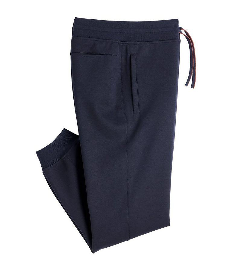 Stretch-Wool Track Pants image 0