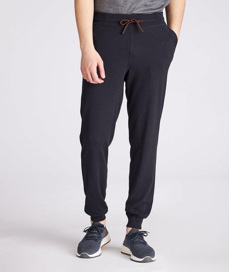 Silk-Cashmere Track Pants image 1