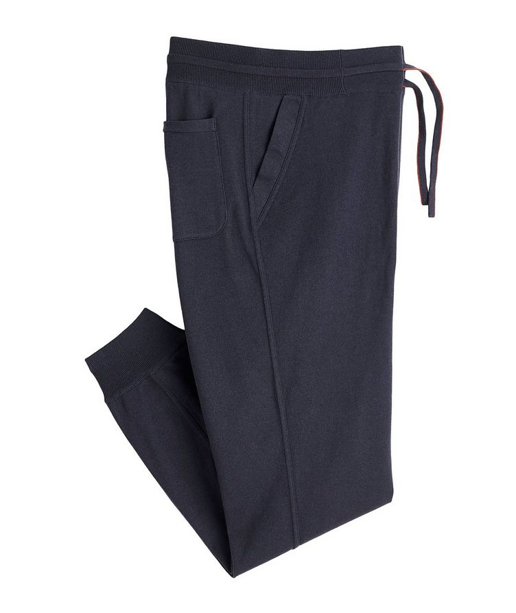 Silk-Cashmere Track Pants image 0