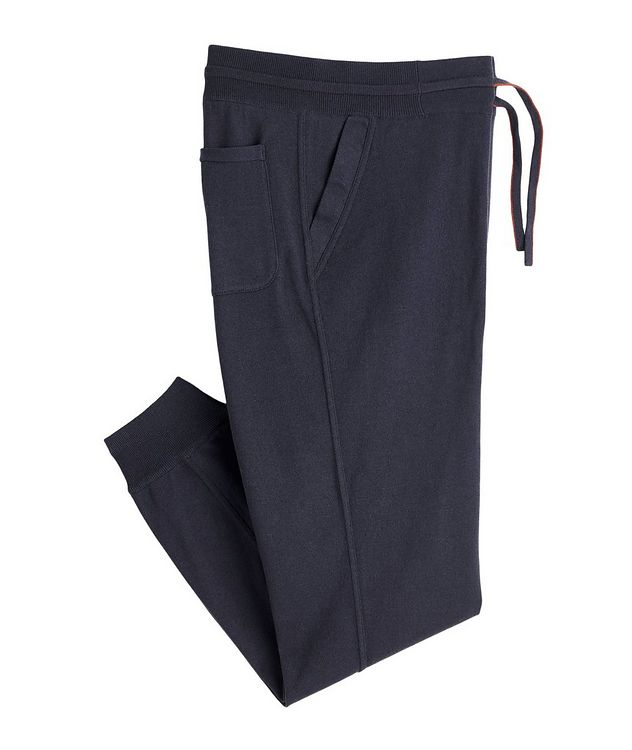 Silk-Cashmere Track Pants picture 1