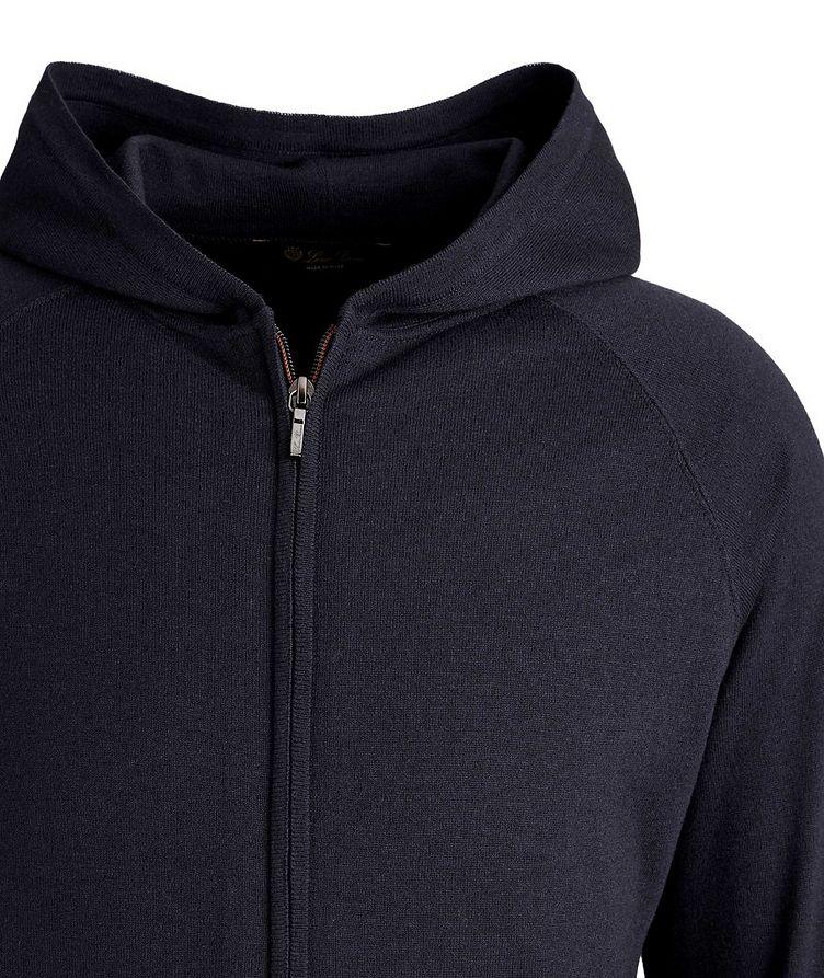 Portland Silk-Cashmere Zip-Up Sweater image 1