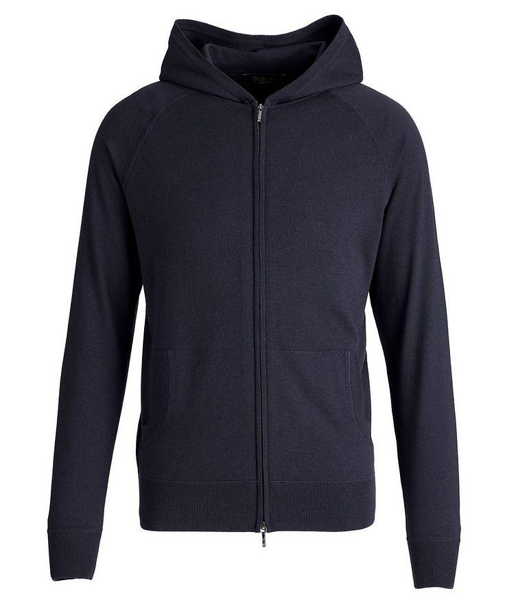 Portland Silk-Cashmere Zip-Up Sweater image 0