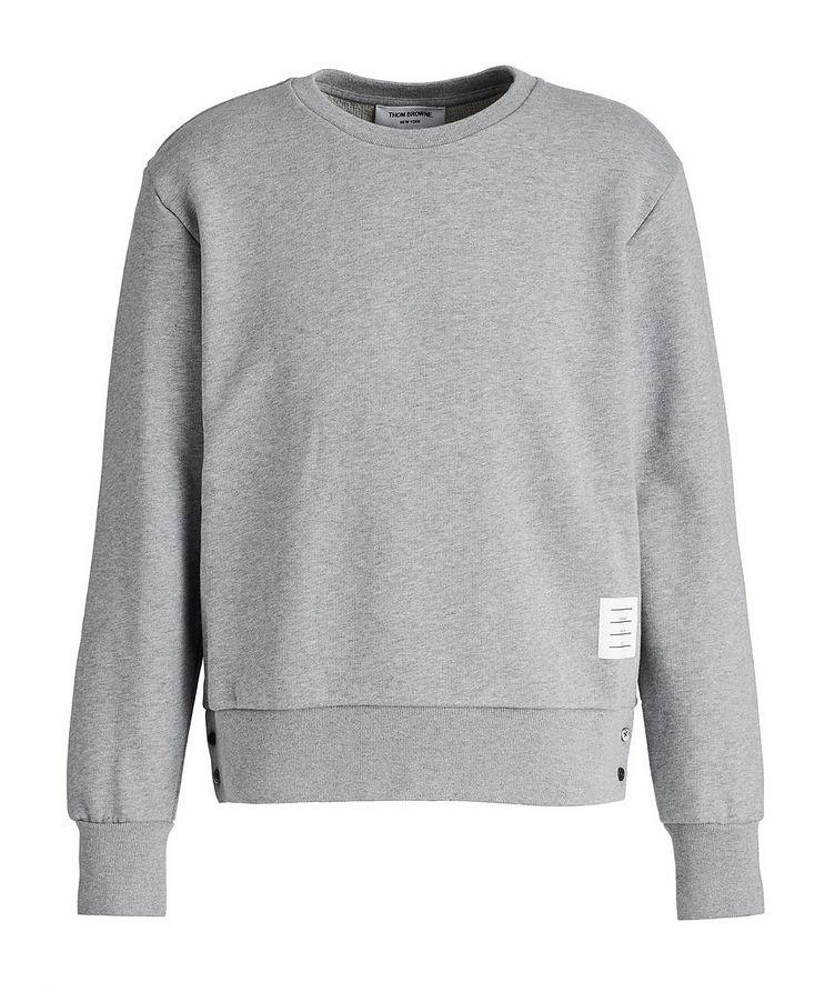 Stretch-Cotton Sweatshirt image 0