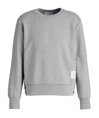 Thom Browne Stretch-Cotton Sweatshirt