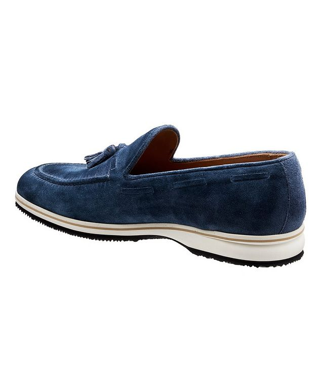 Conte Max Tassel Suede Loafers picture 2