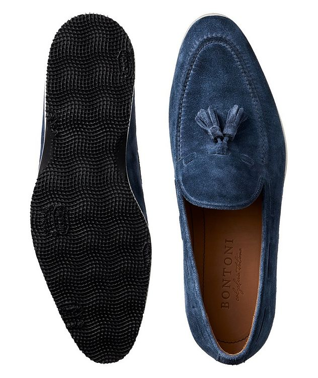 Conte Max Tassel Suede Loafers picture 3