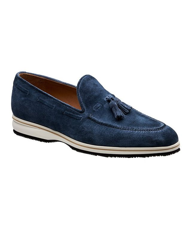 Conte Max Tassel Suede Loafers picture 1