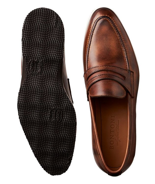 Principe II Leather Loafers picture 3