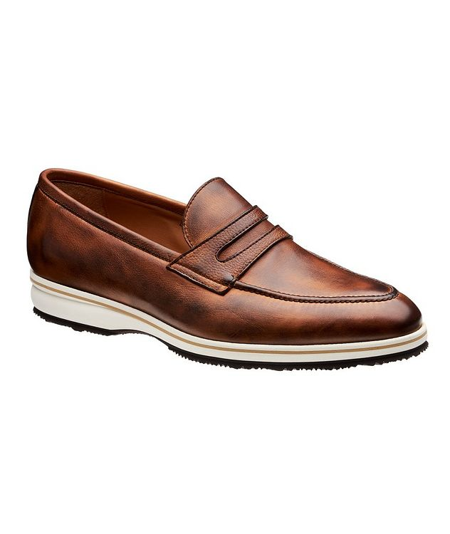 Principe II Leather Loafers picture 1