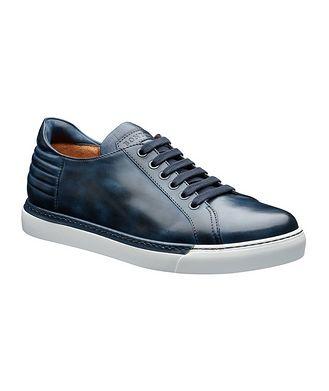Bontoni Burnished Leather Sneakers