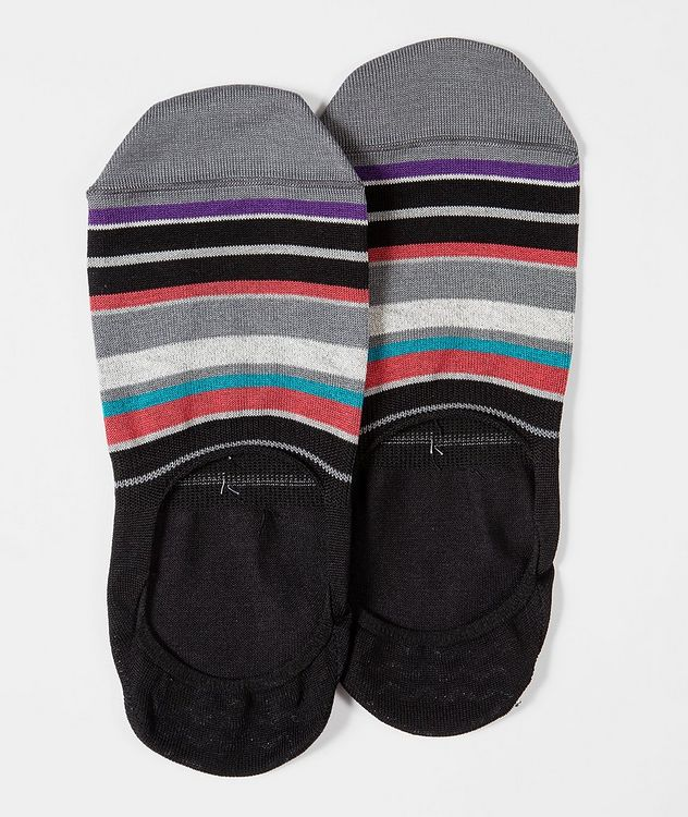 Chaussettes courtes à rayures picture 1
