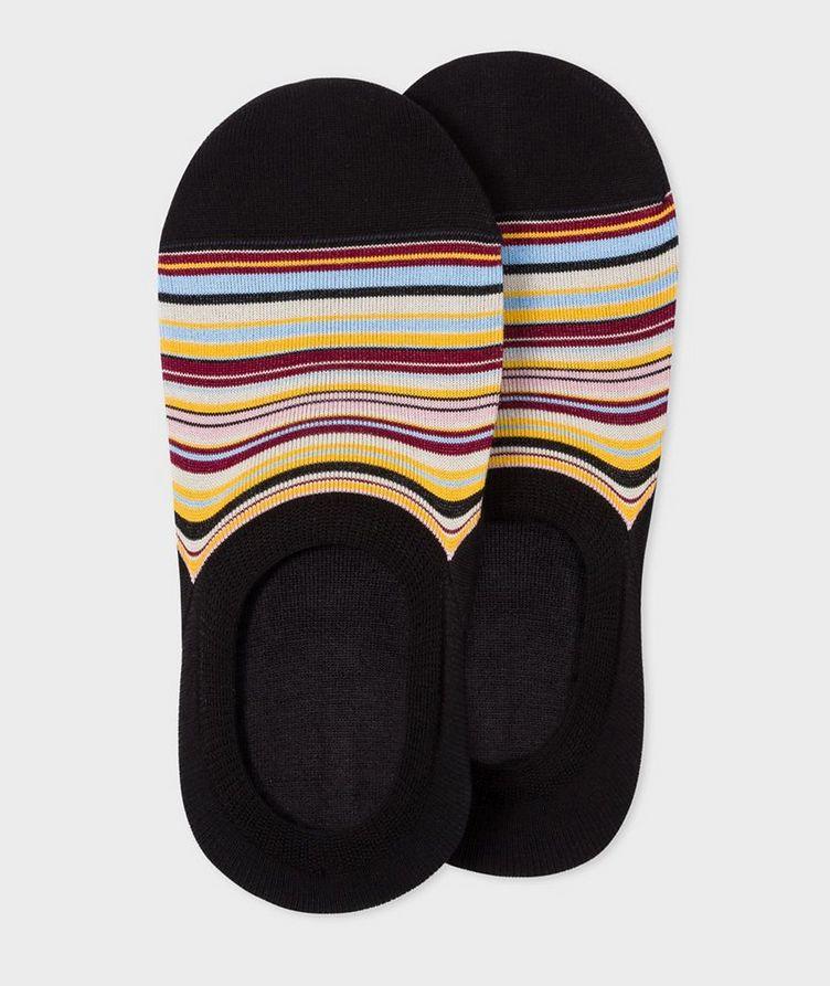 Striped Loafer Socks image 0