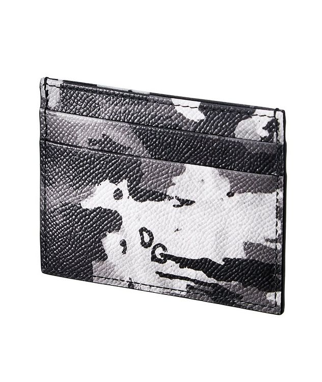 Camouflage Leather Cardholder picture 2