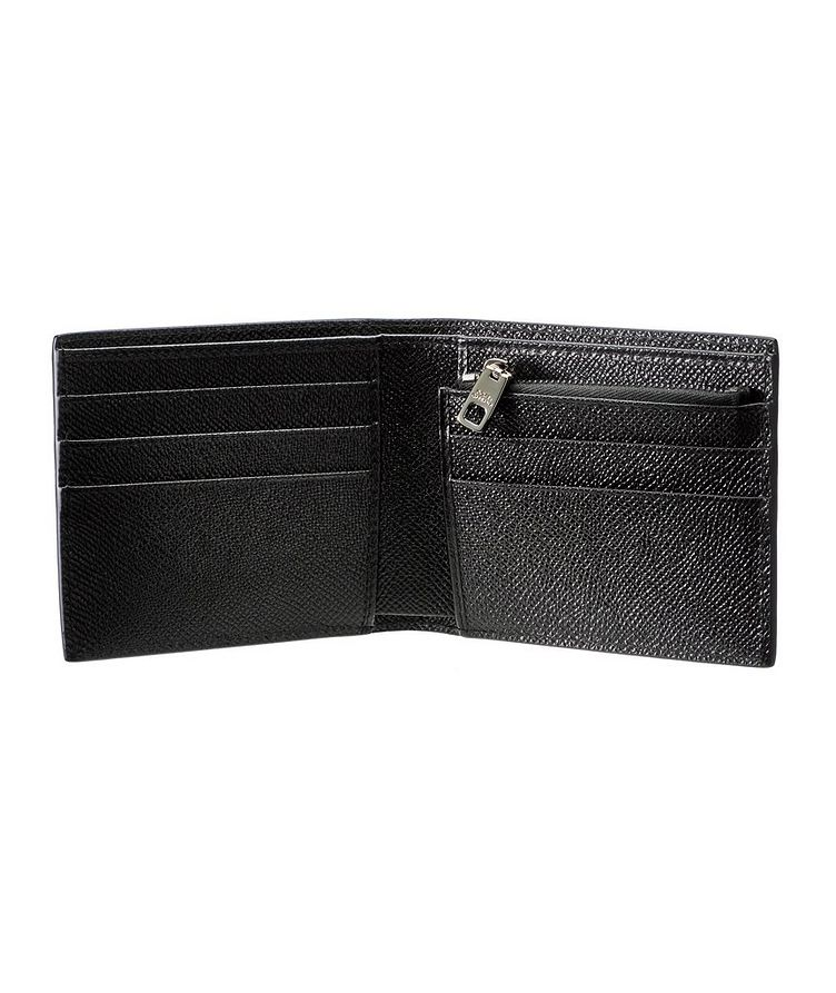 Camouflage Leather Billfold Wallet image 1