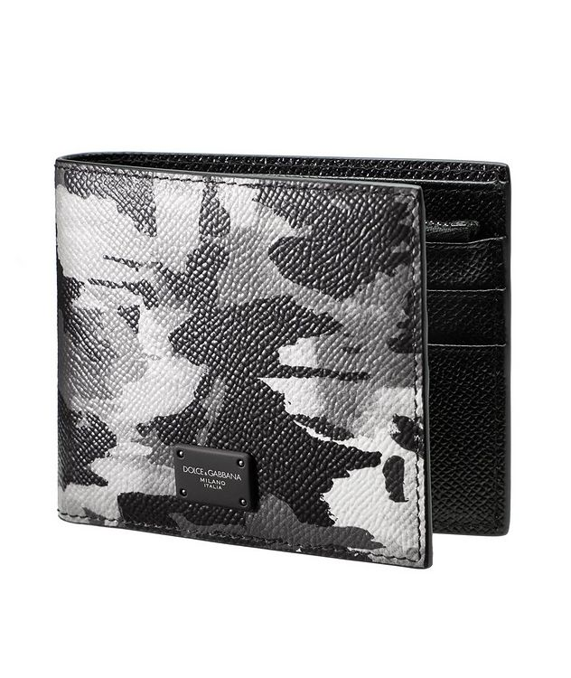 Camouflage Leather Billfold Wallet picture 1
